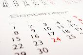 Calendar: September