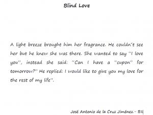 blinde love