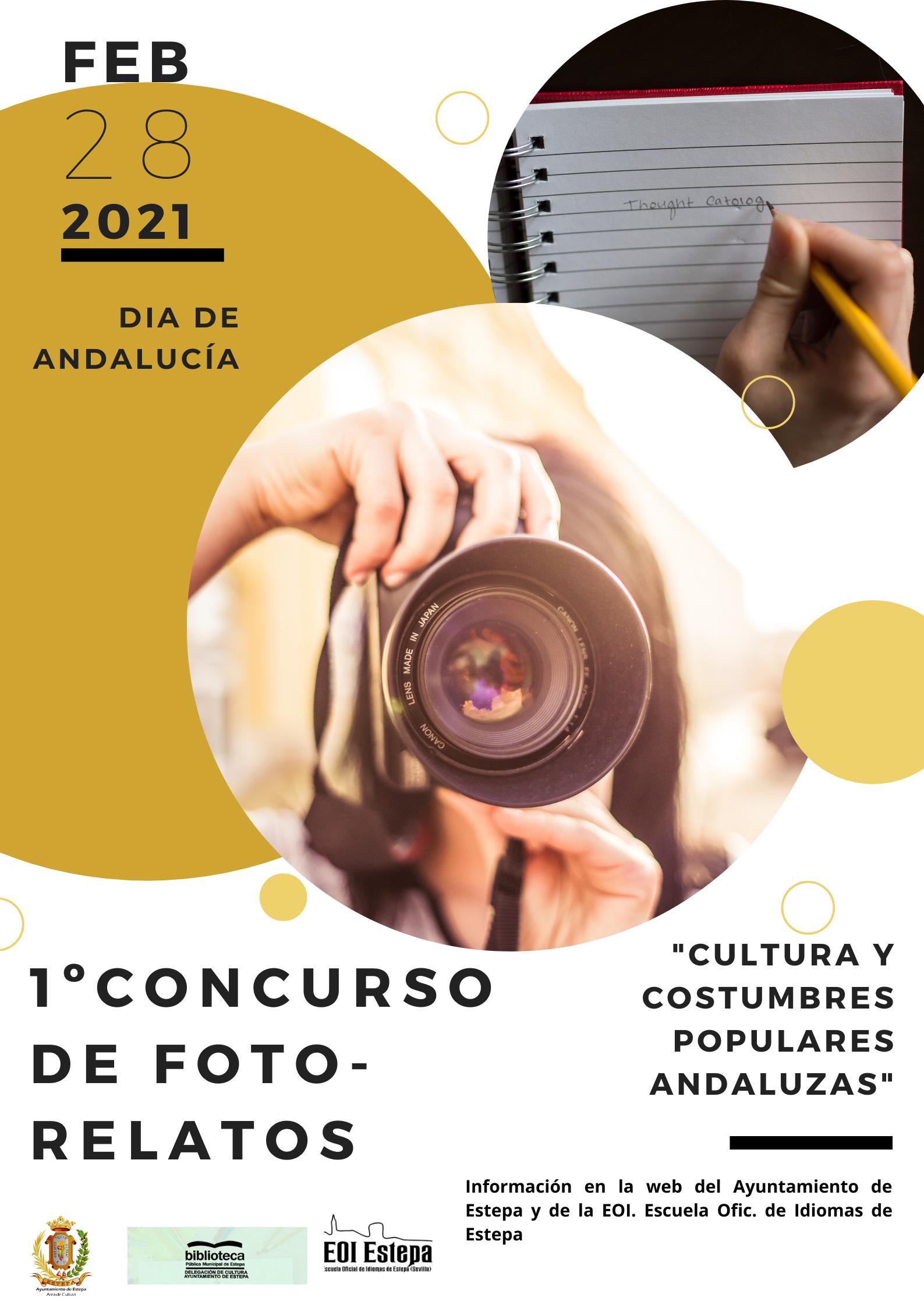 Concurso de Foto-Relatos para el Día de Andalucía